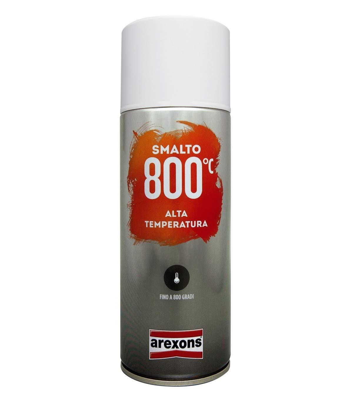 ArexonsTrade Vernice Spray Nero per MARMITTE Scarico Nero Alta Temperatura 2332