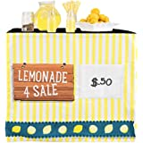 HIDEABOO - Lil' Biz Polyester Easy Lemonade Stand Card Table Cover