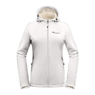 d7397ddfd OutdoorMaster Women's Fleece Jacket - Waterproof & Stain Repellent, Ultra  Soft Plush Lining & Optional