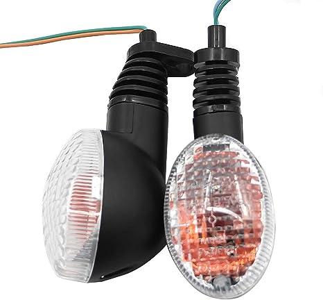 Amazon.com: Motoparty - Luz intermitente delantera y trasera ...
