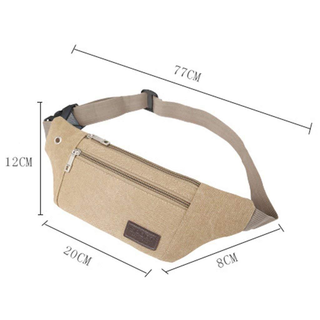 Aikesi Marsupio Sportivo Impermeabile con Cintura Regolabile per Smartphone Chiave Denaro Carte Ideal per Campeggio Pesca Escursionismo e Ciclismo Verde