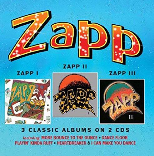 Zapp - Zapp I Zapp II Zapp III - (WROBIN10CDD) - REISSUE - 2CD - FLAC - 2016 - WRE Download