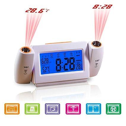 Alarm Clocks Loyal Large Lcd Display Snooze Digital Alarm Clock Luminous Thermometer Calendar Desktop Table Clocks