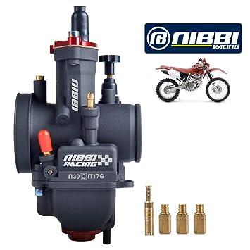 JFG RACING 30MM PWK 30 Power Jet Carburatore Carb Per moto da corsa ATV Scooters Dirt Pit Bike