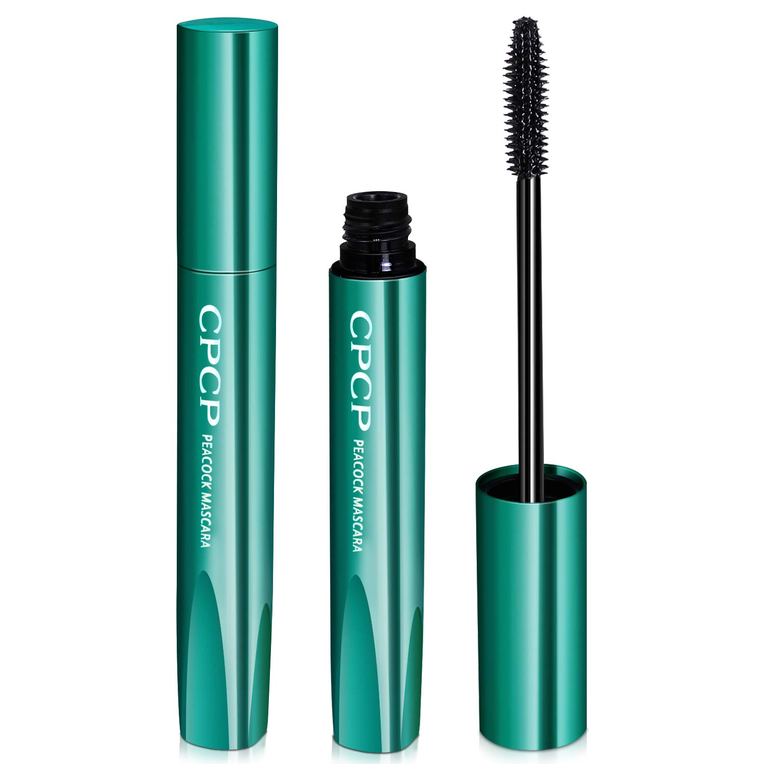 SIKEMAY 2 Pcs 4D Silk Fiber Lash Black Mascara, Longer & Thicker Lashes, Waterproof, Clump-Free, Long-Lasting, Smudge-proof, Hypoallergenic, All Day Luxurious Looking Lashes