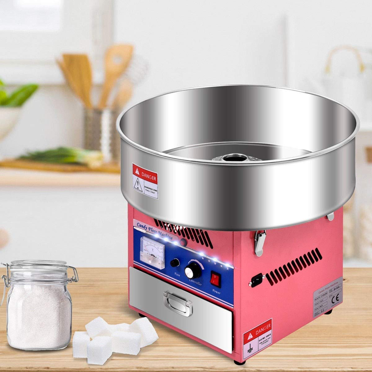 Cotton Candy Machine, Pink Electric Cotton Candy Machine by MD Group (Image #6)