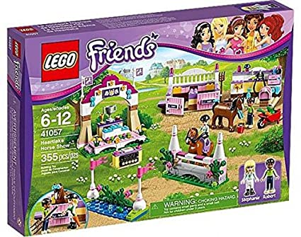 Amazon Lego Friends Set 41057 Heartlake Horse Show By Lego