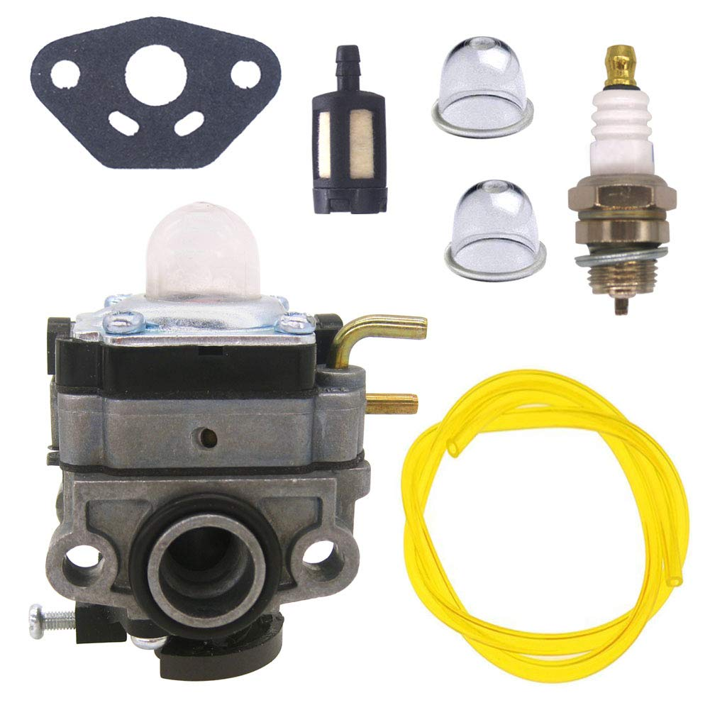 FitBest Carburetor Carb for Ryobi RY251PH RY252CS RY253SS RY254BC 2 Cycle 25cc Brush Cutter Trimmer by FitBest