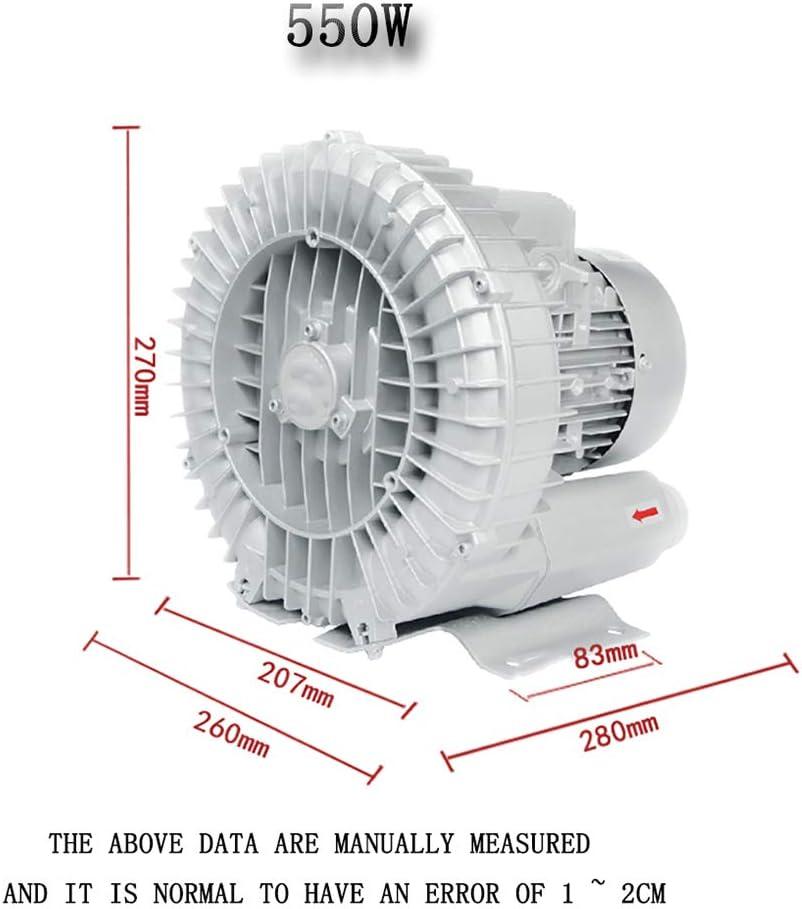 Ventilador Centrífugo Ventilador Centrífugo Bomba De Aire De Alta Presión Vortex Ventilador Axial Ventilador De Vacío Industrial Ventilador De Vacío Soplar Y Succionar 220V: Amazon.es: Hogar
