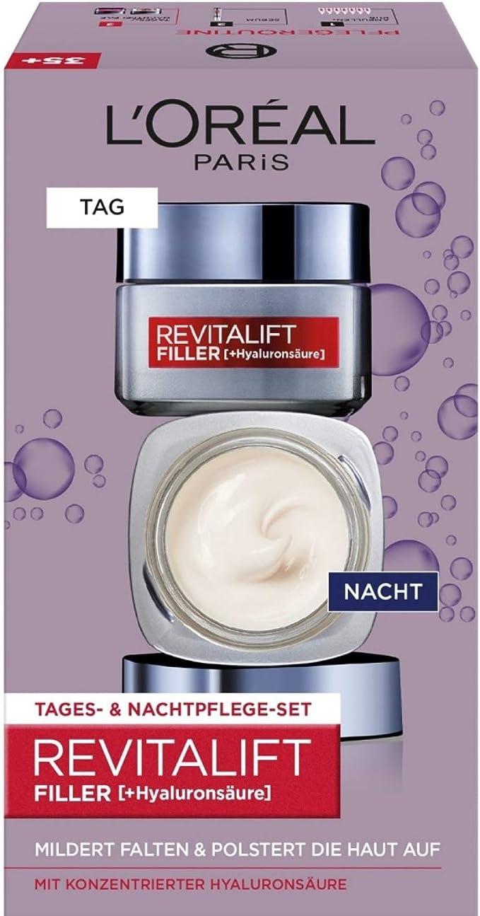 L Oréal Paris revitalift Filler [ha] Día y Noche Cuidado Facial ...
