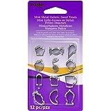 Premo Mini Metal Cutters 12/Pkg-Sweet Treats