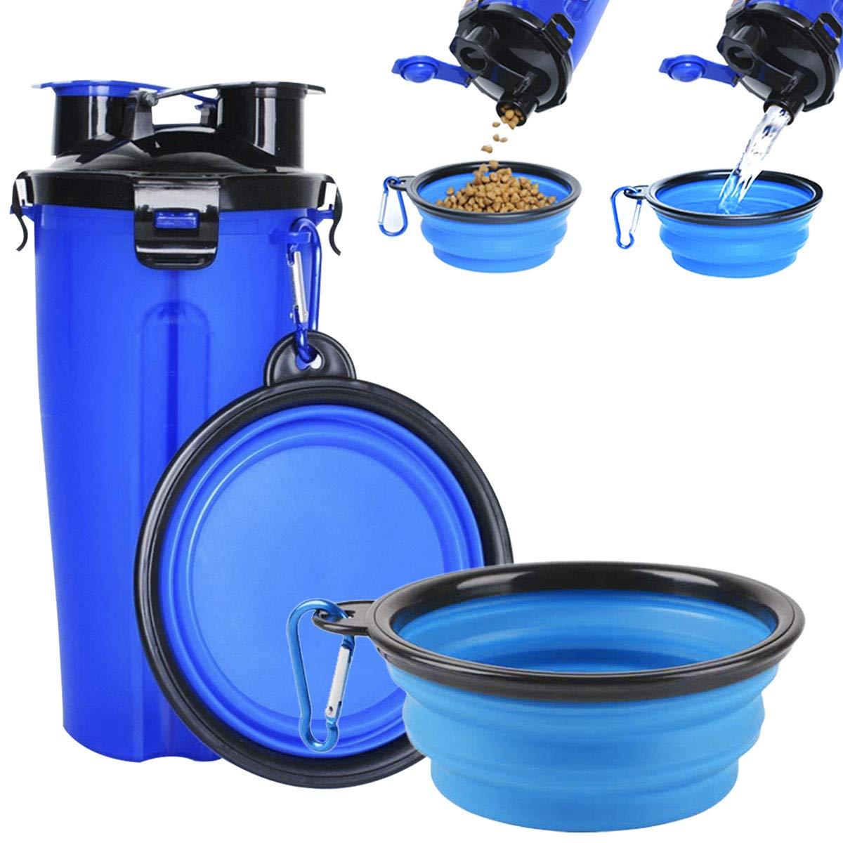 Portable Dog Water Bowl >> Pet Supplies Almall Portable Dog Water Bottle With Collapsible Dog