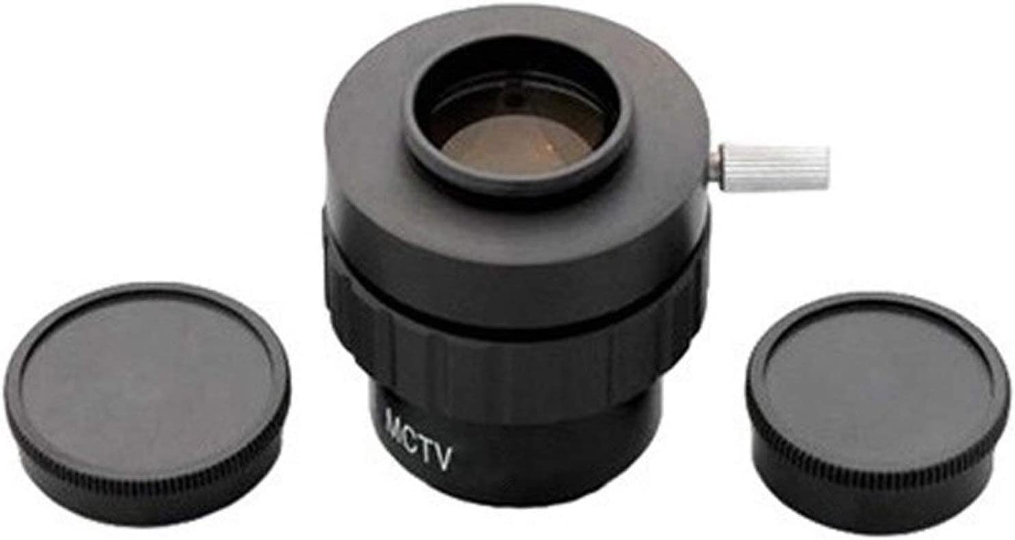 AmScope AD-C20 0.5X C-mount Lens Adapter For Video Camera Microscopes