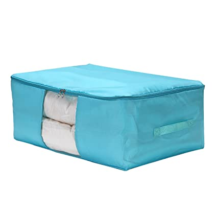 Merveilleux VEAMOR Clothes Storage Containers Beddings/Blanket Organizer Storage Bags  With Zipper Breathable And Moistureproof