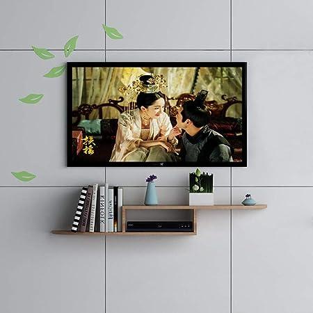 HONGYU Estante Flotante TV montado en la Pared Gabinete Set Top Box Router Proyector Equipo de Juego Estante de Almacenamiento Soporte para TV (Size : Light Brown 120CM): Amazon.es: Hogar