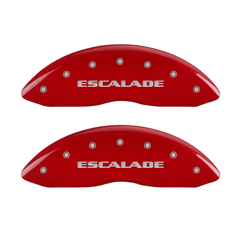 MGP Pinza de freno Covers 35014sesvrd Pinza de freno cover con rojo acabado con recubrimiento en polvo, (Set de 4): Amazon.es: Coche y moto