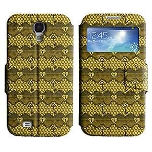 LEOCASE linda chica Funda Carcasa Cuero Tapa Case Para Samsung Galaxy S4 I9500 No.1006916