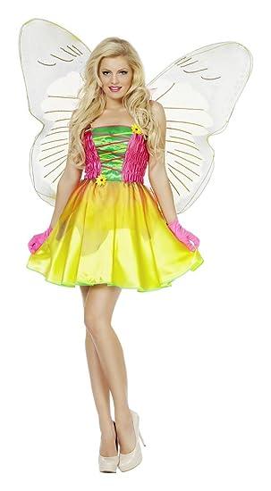 Wilbers Damen Kostum Blumenfee Fee Elfe Karneval Fasching Gr 44