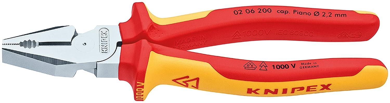 Knipex KPX0206200 Alicate universal 200 mm: Amazon.es: Bricolaje y herramientas