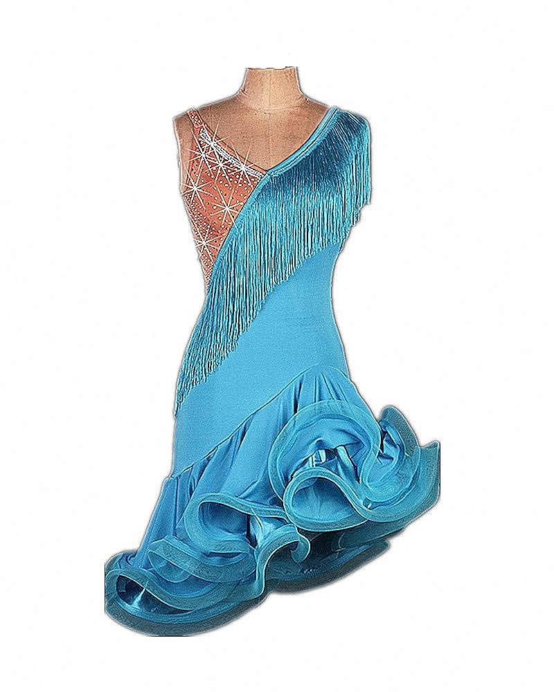 SIQIAN DRESS レディース ブルー Medium