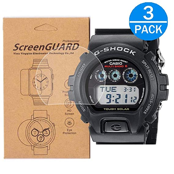 Amazon.com: [3-Pack] for Casio GW-6900 Watch Screen ...