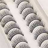Image of Leiothrix Upscale 10 Pairs Long Thick Eyelashes for Women and Girls On any Occasion