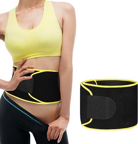 Ebuty Cinturón de cintura para entrenamiento de pérdida de peso ...