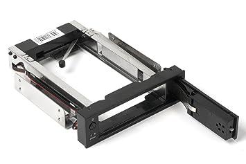 ORICO Portaherramientas / bastidor móvil Hot Swap interno de 5,25 pulgadas sin herramientas, sin herramientas, para carcasas SATA de 3,5 pulgadas