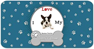 Bleu Reign Personalized Custom Name I Love My Dog 12