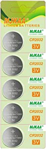 5 Pack 2032 Battery CR2032 3V Lithium Coin Cell Battery