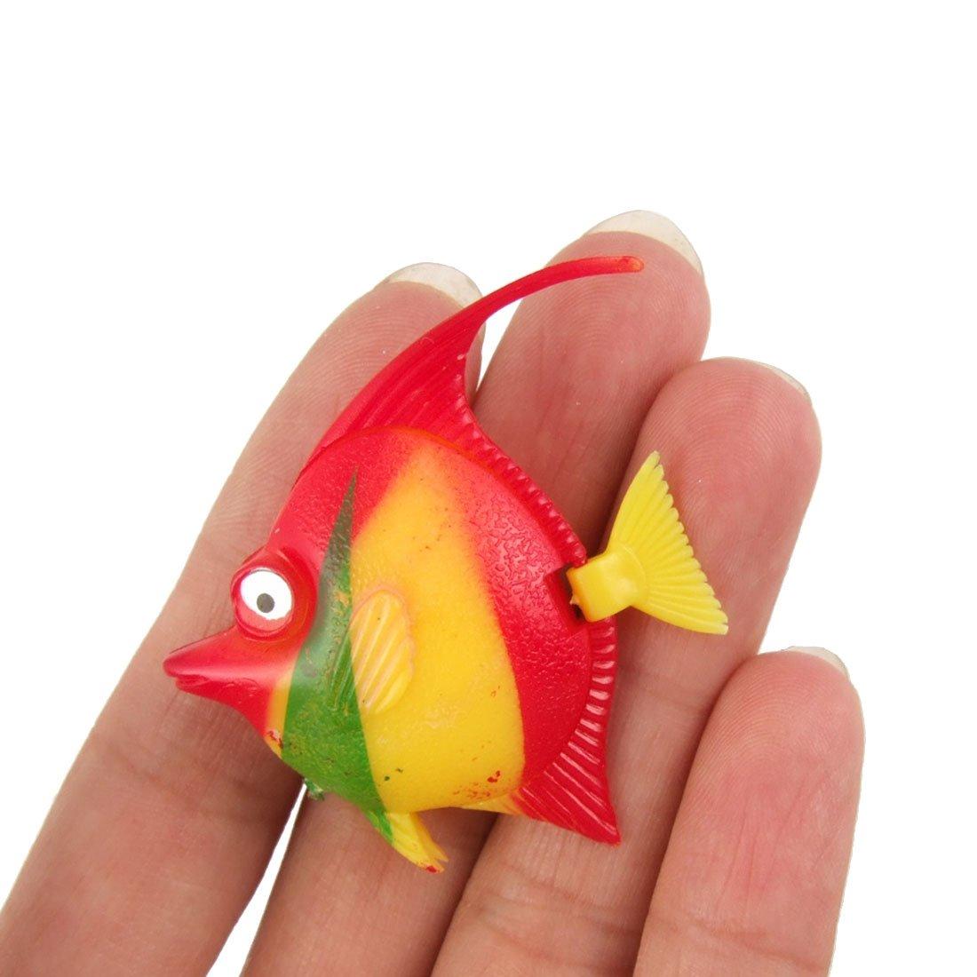 Amazon.com : 4 Pcs Artificial Plastic Tropical Fish for Aquarium ...