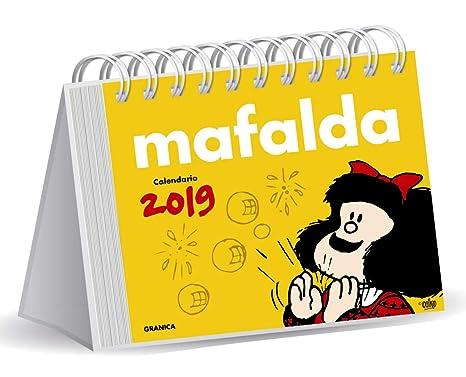 Granica Gb00108 Mafalda 2019 Calendario Scrivania Amazonit