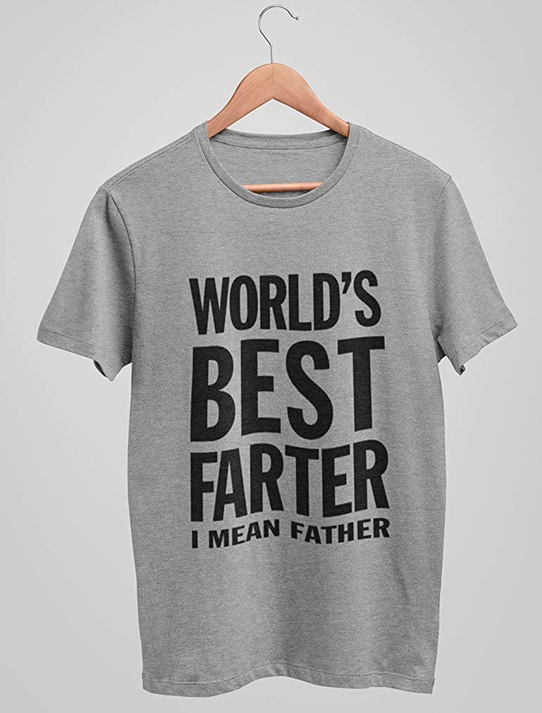 Worlds Greatest Farter MENS T-SHIRT tee birthday gift dad daddy day funny