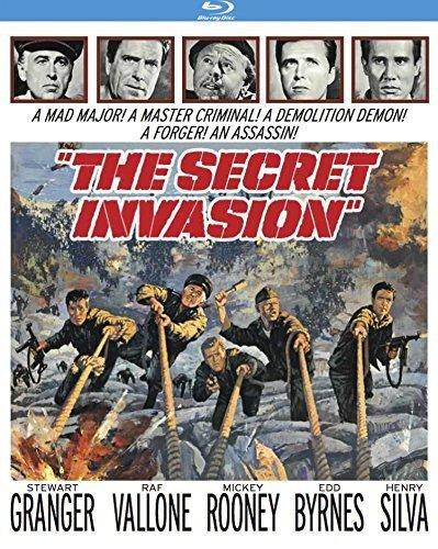 Blu-ray : The Secret Invasion (Blu-ray)