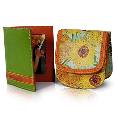 Amazon.com: TAXI WALLET Van Gogh Sunflowers VEGAN - Monedero ...