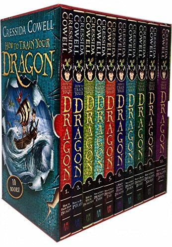 How To Train Your Dragon - 10 Book Set