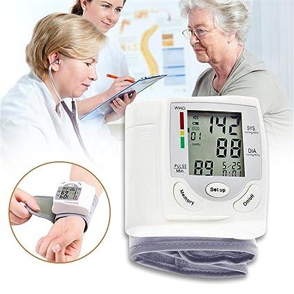 colinsa Tensiómetro de muñeca digital con detección de frecuencia cardíaca Salud regalo sangre Impresión Portable sphygmo
