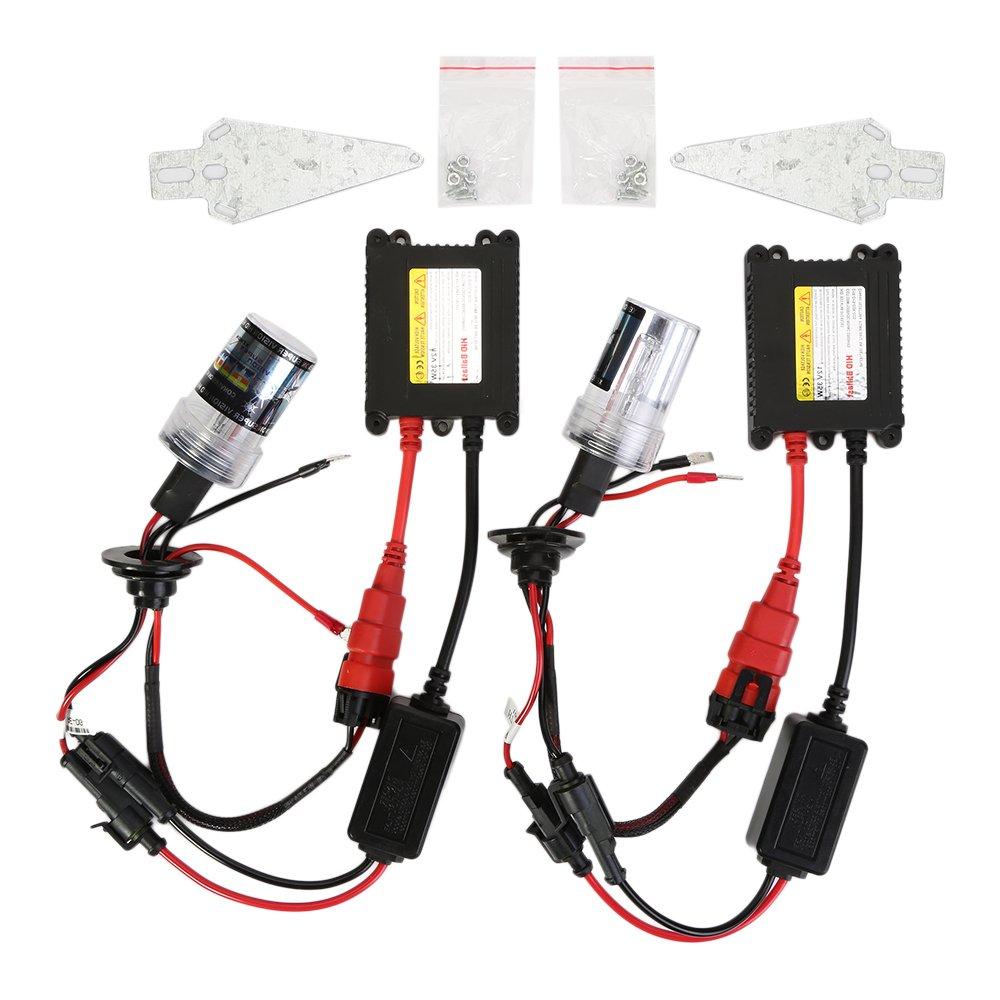 OSAN 55W H7 Xenon HID Conversion Kit Headlight Bulb, (8000K, 2 Bulbs, 2 Ballasts) CICMOD