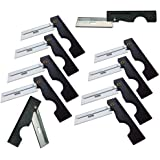 Derma-Safe Folding Utility Razor (10-pack) for Survival and First Aid Kits