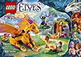 Image of LEGO Elves Fire Dragon's Lava Cave