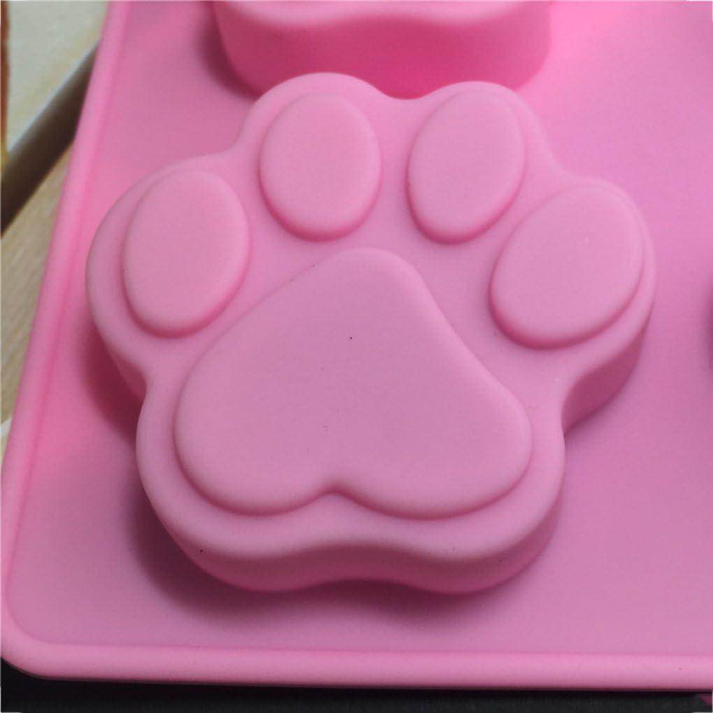 DANDANdianzi Stampo in Silicone Animal Cat Claws Torta Che Decora Cioccolato Cucina Che Cucina Attrezzi della Torta Dessert Fare