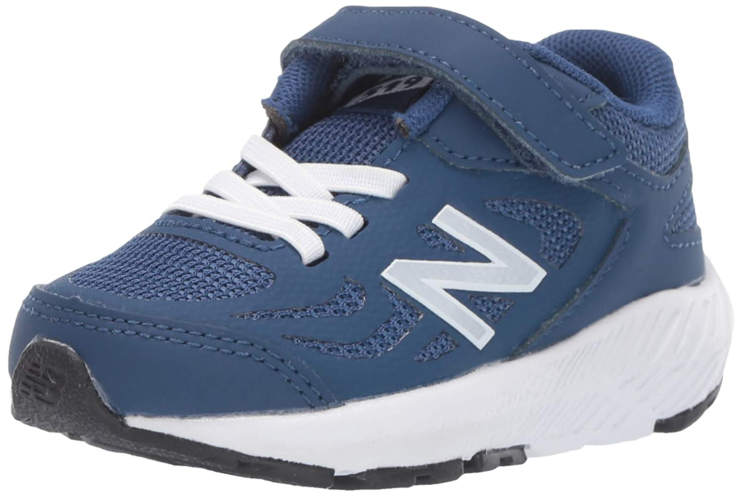 Mgoldccan Tile White 13.5 XWide Little Kid New Balance Girls 519v1 Hook and Loop Running shoes