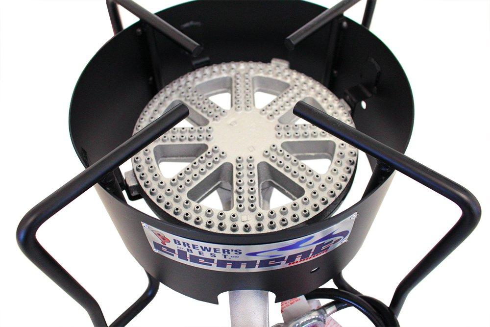 Brewer's Best 10.125″ Cast Iron Element Burner – 70,000-80,000 BTUs