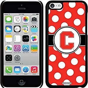 Coveroo Wallet Cell Phone Case for iPhone 6 Plus - Retail Packaging - Stanford University Polka Dots Design
