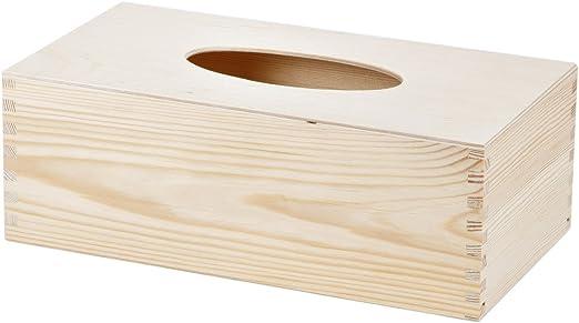 Pañuelos Caja Caja de pañuelos rectangular Decoupage ...