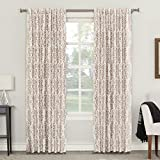 Best Sun Zero Home Black Out Curtains - Sun Zero Rita Floral Blackout Lined Back Tab Review