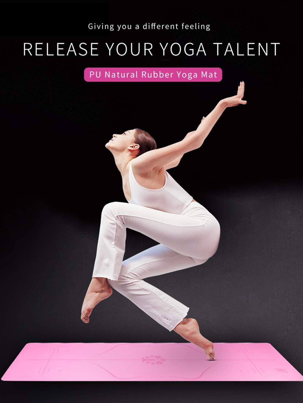 GQHW Esterilla Yoga Antideslizante Caucho Natural Colchoneta ...