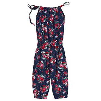 a2f6a5e8d97 Domybest Baby Girls Rompers 2-7 Years