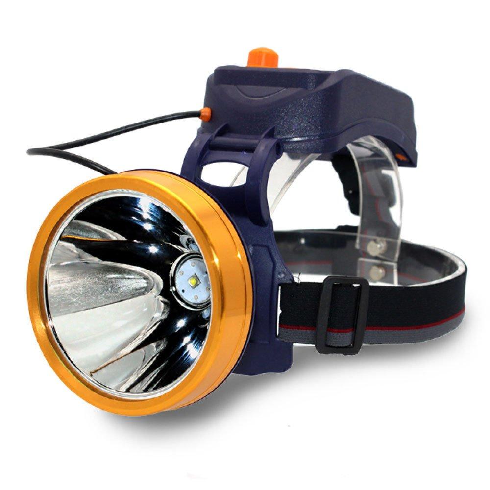ERHANG Stirnlampen Scheinwerfer Hauptscheinwerfer Taschenlampe LED Blendung Super Bright Ladekabel Head-mounted 3000 Meter Beleuchtung Stufenlose Verdunkelung