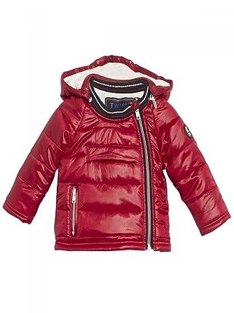 IKKS-Doudoune à Capuche imperméable Rouge bébé garçon  Amazon.fr  Vêtements  et accessoires 3384078ca77